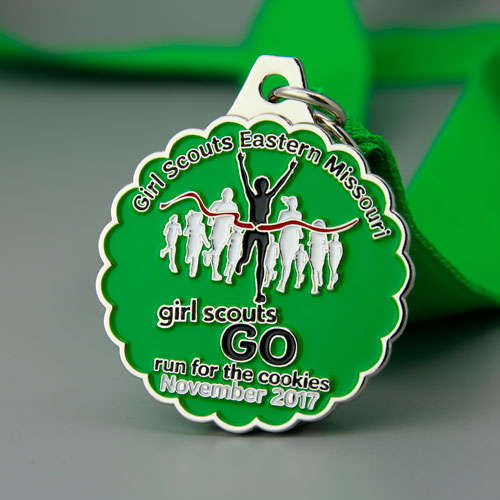 Girl Scouts Customized Medals3-GSJJ