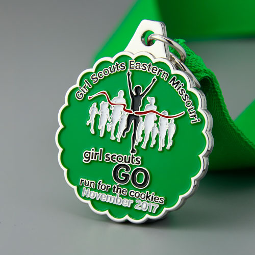 Girl Scouts Customized Medals-GSJJ