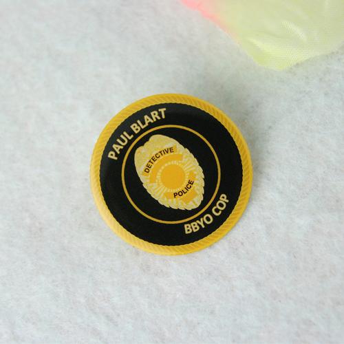 Paul Blart custom lapel pins-gs-jj