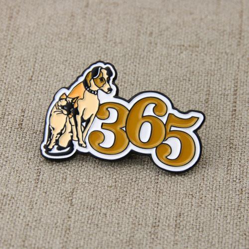 Cat Dog Lapel Pins-gs-jj.com