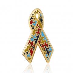 Awareness Lapel Pins(S118)-GSJJ