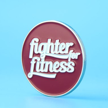 fighter fitness custom enamel pins,gs-jj.com