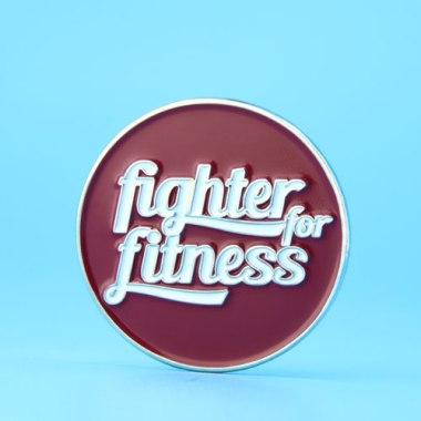 fighter fitness custom lapel pins,gs-jj.com