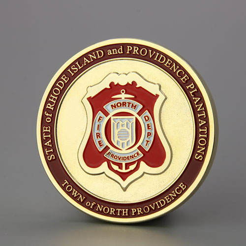 North Providence Firefighters Custom Coins Cheap