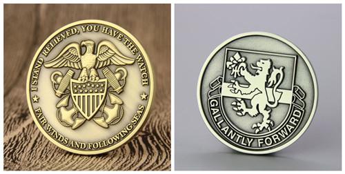 custom challenge coins no minimum